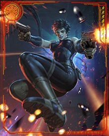 This is a helper site for the Mobage game Marvel War of Heroes Domino Marvel, Marvel Dc Comics, Marvel Heroes, Anime Comics, X Men, Female Comic Characters, Misty Knight, Marvel Cards, Superhero Villains