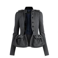 Burberry Tweed Country Jacket ❤ liked on Polyvore