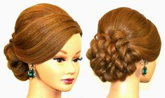 Holiday Hairstyles. Thanksgiving Hairstyle For Long Hair.