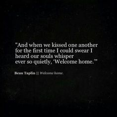 Image in love quotes collection by Sammi on We Heart It Pretty Words, Beautiful Words, Poem Quotes, Life Quotes, Beau Taplin Quotes, Word Porn, What Is Love, Writing Prompts, Relationship Quotes