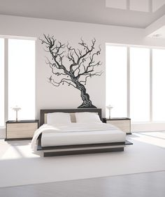 Vinyl Wall Decal Sticker Musical Tree #OS_MB445 | Stickerbrand wall art decals, wall graphics and wall murals.