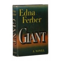 Edna Ferber - Giant - Doubleday US 1952 - Signed First Edition