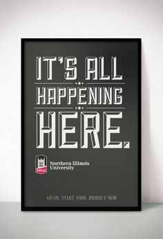 Start your journey at NIU.