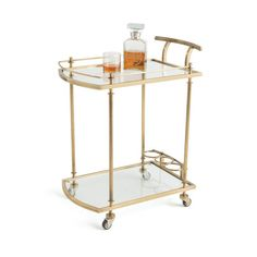 Everything Bar Carts - Holmes Bar Cart 21152