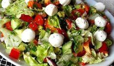 TOP recepty podľa Dukanovej diéty - Receptik.sk Caprese Salad, Cobb Salad, Recipe For 4, Salad Recipes, Potato Salad, Good Food, Cooking Recipes, Chicken, Vegetables