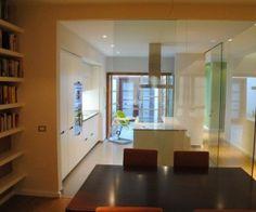 #cocina #cristal #santos #blanco #interiorismo #luz #arquitectura #interior #diseño #mobiliario #silla #balay #globarq