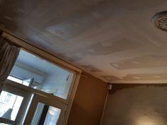 Gyprocplafond op metalstud in slaapkamer