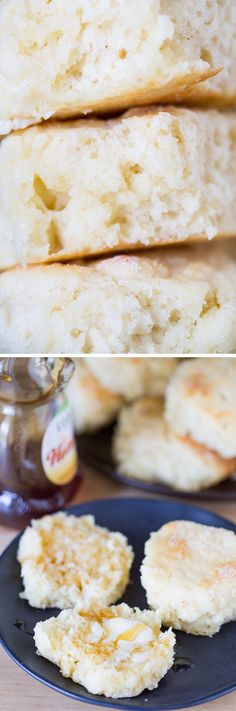 These recipe for fluffy Sweet Biscuits is perfect for slathering in butter and jam for breakfast! They are slightly sweet and buttery.