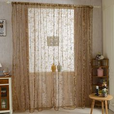 Cheap curtain tube, Buy Quality curtains and drapes directly from China curtain detector Suppliers: 1 PCS Sheer Voile Window Curtains Drape Panel or Scarf Assorted Specification:Material: NylonFit Rod Pocket: