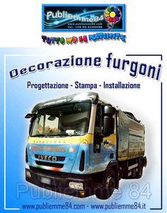 Publiemme 84 Decorazione di furgoni Progettazione Stampa Installazione www.publiemme84.com www.publiemme84.it