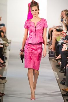 Oscar de la Renta lovely colour