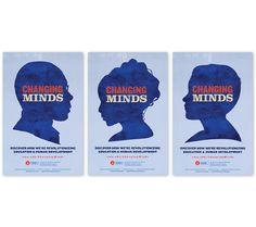 "Annette Caldwell Simmons School of Education & Human Development ""Changing Minds"" Campaign - Copywriting, Design, Illustration and Creative Direction & Tagline Development - Frances Yllana francesyllana.com"