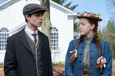 Lucas Jade Zumann and Amybeth McNulty in What Can Stop the Determined Heart Gilbert Blythe, Jonathan Crombie, Anne Shirley, Anne And Gilbert, Lucas Jade Zumann, Amybeth Mcnulty, Anne White, Orphan Girl, Anne With An E
