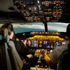 Boeing 737 Full Flight Simulator #Cockpit