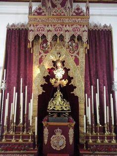 Segunda fase de la remodelacion del altar del Cautivo
