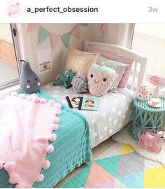 28 More Girls Bedroom Decor Ideas ~ Beautiful House Pink Bedroom Decor, Room Ideas Bedroom, Baby Bedroom, Girls Bedroom, Big Girl Bedrooms, Little Girl Rooms, Little Girls Room Decorating Ideas Toddler, Girl Bedroom Designs, Daughters Room