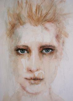 "Fiona Maclean; Acrylic 2011 Painting ""Abigail"""