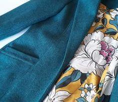 By Hand London Rumana Coat By Hand London, Dressmaking, Winter Coat, Craft Ideas, Studio, Sewing, Cotton, Fashion, Sew Dress