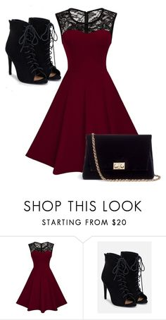 """Untitled #135"" by hmk3601 ❤ liked on Polyvore featuring JustFab and Rodo"