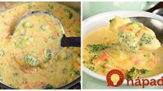 Minútková brokolicová polievka s bambinom: Mamičky, toto pripravíte do 20-minút a deti ju doslova milujú – sýta a úplne fatastická! 4 Ingredients, Cheeseburger Chowder, Soup, Eggs, Chicken, Breakfast, Egg, Soups, Egg As Food