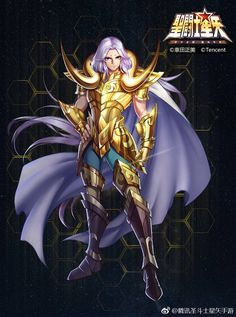 Saint Seiya (Tencent) New official mobile game for IOS-Android developed by the Chinese company TENCENT Anime Guys, Manga Anime, Anime Art, Knights Of The Zodiac, Golden Warriors, New Saints, Image Manga, Anime Fantasy, Japan Art