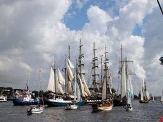 Barcos agrupados