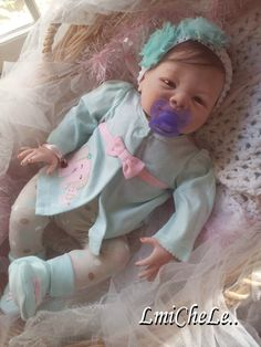 From the Paisley Kit  Reborn Baby Doll 20 inch Baby Girl Rachel Life Size Newborn Baby Doll