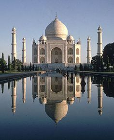 The Taj Mahal is one of the most famous structures in the world, even being considered one of the seven wonders of the modern world, and is . Agra, New Seven Wonders, Wonders Of The World, Le Taj Mahal, Win A Holiday, Famous Structures, Exotic Places, World Photo, Photo Essay