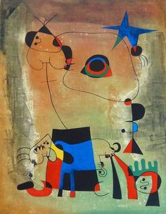 The Blue Dog / Le Chien Bleu | From a unique collection of prints and multiples at https://www.1stdibs.com/art/prints-works-on-paper/prints-works-on-paper/