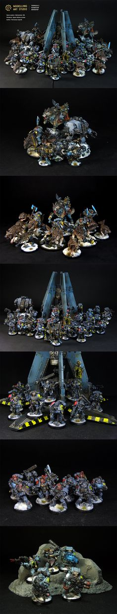 Space Wolves Armies