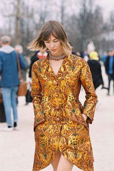 Vanessa Jackman: Paris Fashion Week AW 2012...Anya