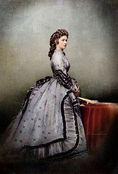 Emperatriz Sissi de Austria por klimbims