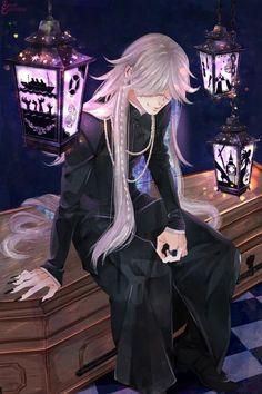 Black Butler Undertaker, Black Butler 3, Black Butler Anime, Manga Boy, Anime Manga, Anime Guys, Shinigami, Anime Kuroshitsuji, Haikyuu
