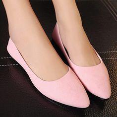women soft flock ultra light women flat shoes candy color ladies flats  shoes brand women shallow 66e05c289c66