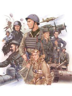 Military Diorama, Military Art, Military History, Military Uniforms, Kingdom Of Italy, Italian Army, National History, Dieselpunk, World War Ii