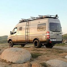 @sportsmobilewest just released this Sprinter outfitted with Aluminess gear into the wild  .  .