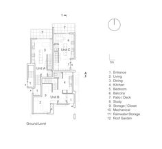Gallery of Ecological Densification Four Townhouses / SHAPE Architecture - 11