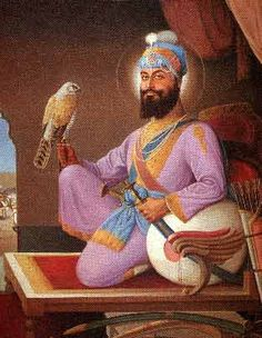 Guru Hargobind, the sixth guru, son of Arjan Dev and grandson of Ram Das.  A master martial artist and avid hunter.