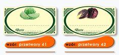 Nálepky Nálepky Houby konzervované ovoce Jars - 3454948585 - oficiální archiv allegro