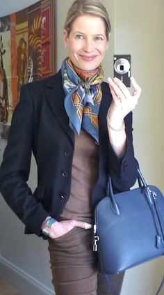 MaiTai's Picture Book: Capsule wardrobe #27 and new Spring scarf