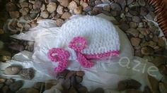Cute Girls Crochet Hat With Bow by crochetcraziehand on Etsy