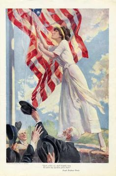 flag raising etiquette