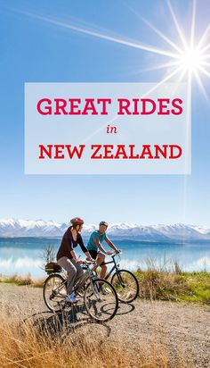 There are 23 Great Rides along the New Zealand Cycle Trail, a free network of bike trails for cyclists of all levels.