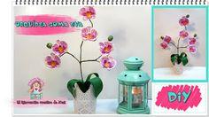La orquídea es una de nuestras flores favoritas y, por eso, nos ha encantado este tutorial para hacerla en goma eva.