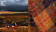 Barvas, Isle of Harris. Tweed colour inspiration