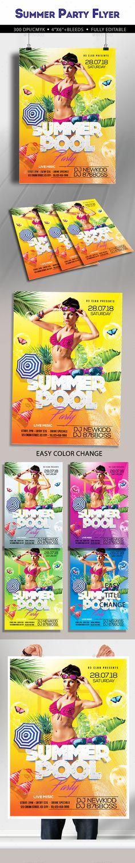 Salsa Night Flyer Template Psd  Flyer Templates