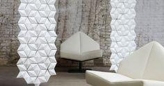 pannello decorativo in Solid Surface (per arredamento interni) FACET 3Form