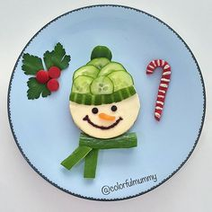 Cold weather came, so even . - Cold weather came, so even … – - Christmas Recipes For Kids, Kids Christmas, Funny Christmas, Food Art For Kids, Food Kids, Childrens Meals, Food Carving, Food Decoration, Fruit Snacks