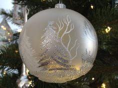 A Beautiful Christmas Ornament.