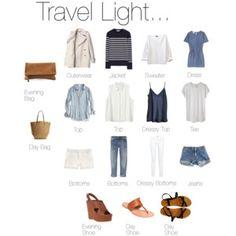 Travel Light... Somewhere Warm.